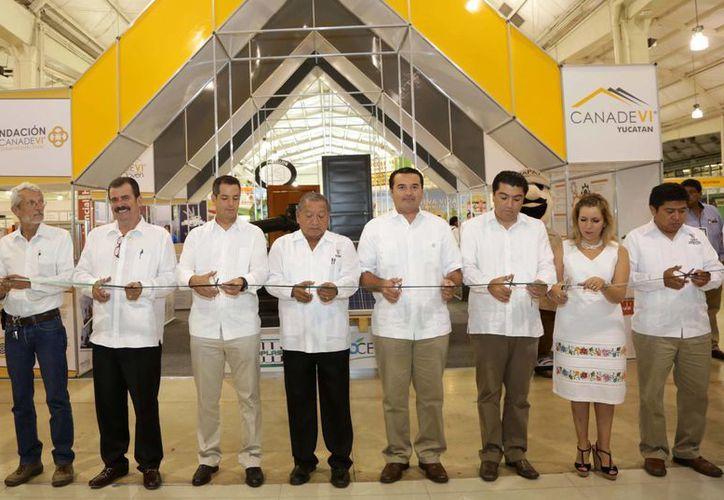 Inauguración de la X Expovivienda Canadevi, en el Centro de Convenciones Yucatán Siglo XXI. (SIPSE)