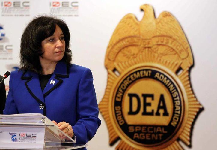 La administradora de la Dirección Estadounidense Antidrogas (DEA), Michele M. Leonhart. (EFE/Archivo)
