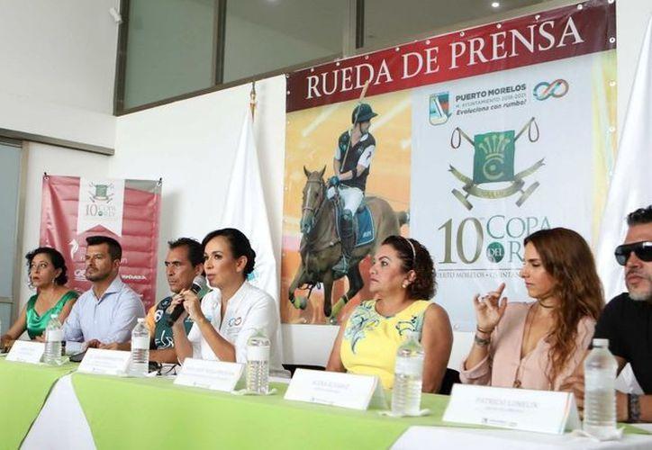 Las autoridades presentaron el torneo que se realizará este fin de semana. (Ángel Villegas/SIPSE)