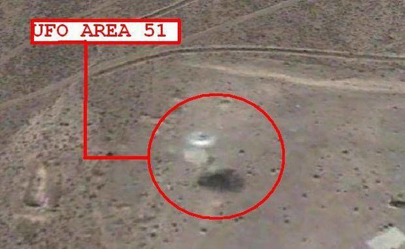 """Esta polémica foto afirman que fue tomada cerca del """"Area 51"""" aunque no hay fundamentos claros para ello."""