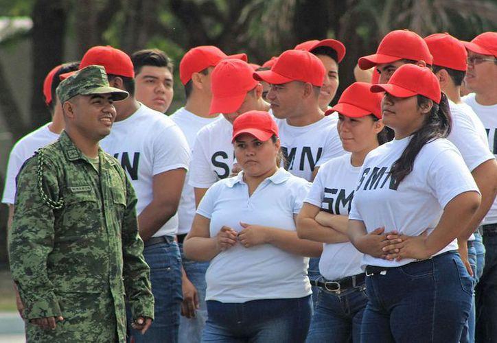 Las interesadas deben asistir a las instalaciones del 64/o Batallón de Infantería en Cancún. (Jesús Tijerina/SIPSE)