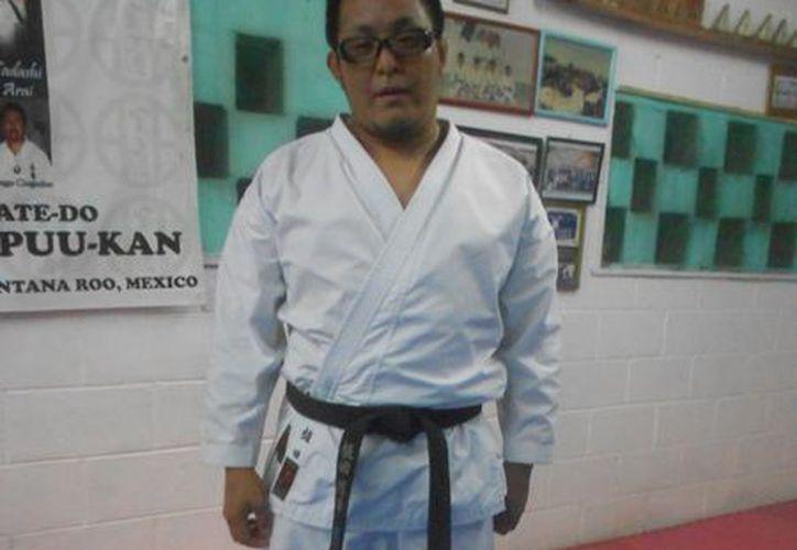 El maestro japonés Jumpei Veda Misumi afirma que pronto habrá campeones mundiales en Quintana Roo. (Raúl Caballero/SIPSE)