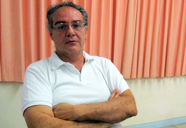 Armando Peraza Guzmán, maestro investigador de la UPN. (Milenio Novedades)