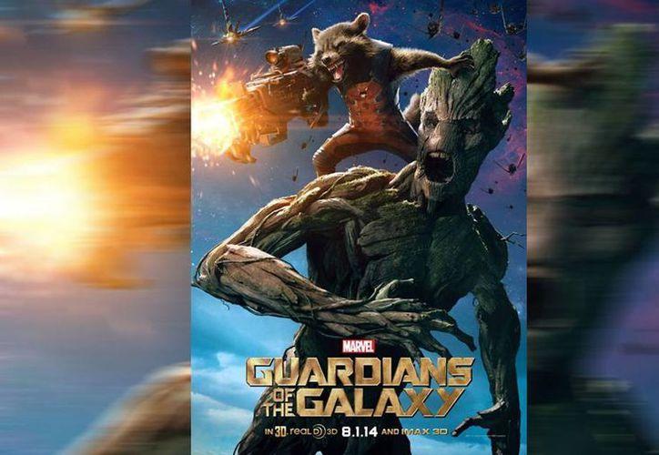 """Vin Diesel está irreconocible como Grood, una planta antropomorfa de la cinta """"Guardianes de la galaxia"""". (Facebook/Vin Diesel)"""
