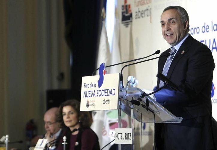 El presidente del Comité Olímpico Español, Alejandro Blanco, dice que la candidatura de Madrid es muy sólida. (EFE/Archivo)