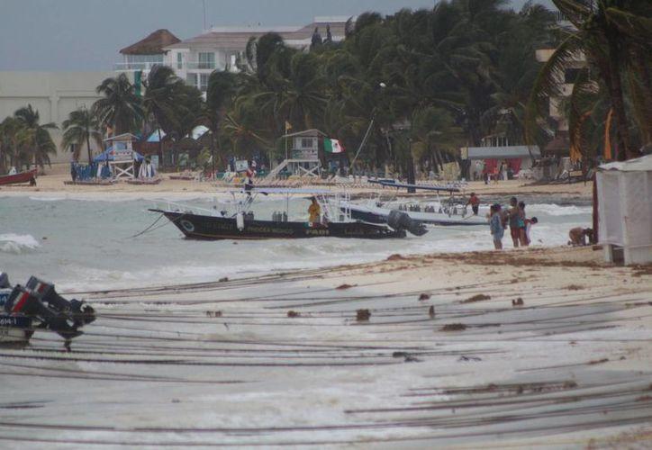 Playa del Carmen podría tener mejores playas en el largo plazo. (Adrián Barreto/ SIPSE)