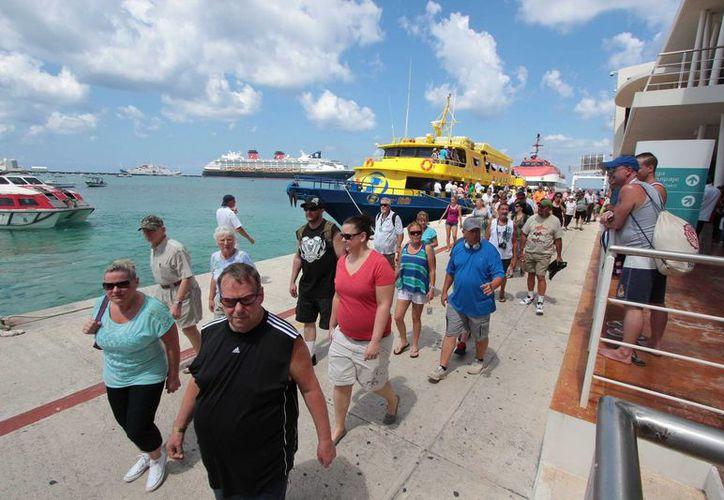 En 2015 habrá una nueva opción para cruzar de Cozumel a Playa del Carmen y viceversa. (Redacción/SIPSE)