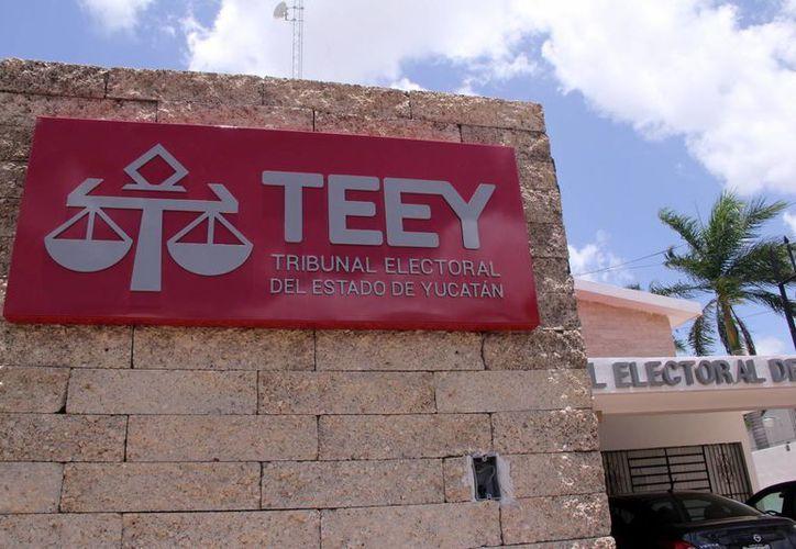 Imagen del Tribunal Electoral del Estado Yucatán, institución que no recibió quejas en las elecciones del pasado 7 de junio. (José Acosta/SIPSE)