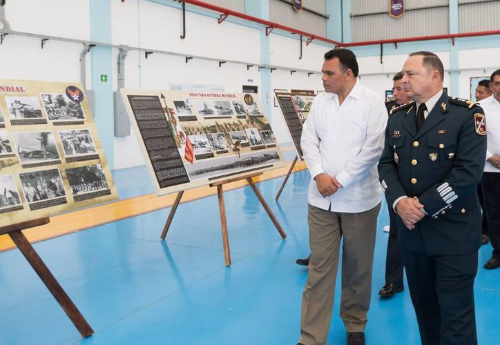 El gobernador Rolando Zapata estará  este miércoles en la Base Aérea Militar número 8 y en Molas. (SIPSE)