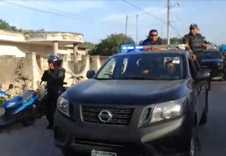 """Pobladores afirman que no quieren """"chilangos"""" en la zona, ya que a su parecer la llegada de estos al lugar ha desatado la violencia. (Captura de pantalla/ Video: Nalleli Calderón/Milenio Novedades)"""