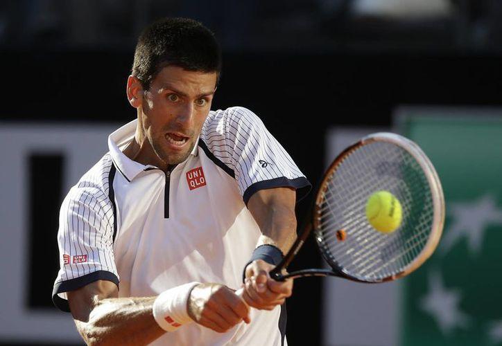 Djokovic es ahora el máximo favorito para levantar el título de Roma. (Agencias)