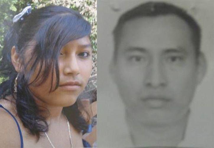 Cintia y Ricardo desaparecieron el 25 y 26 de agosto, respectivamente. (Cortesía)