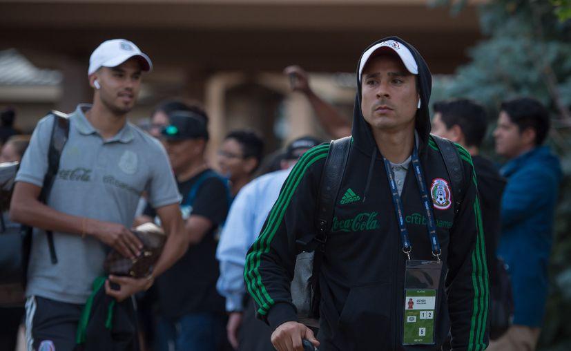 La  Selección mexicana se encuentra en Denver. (Foto: Mexsport)