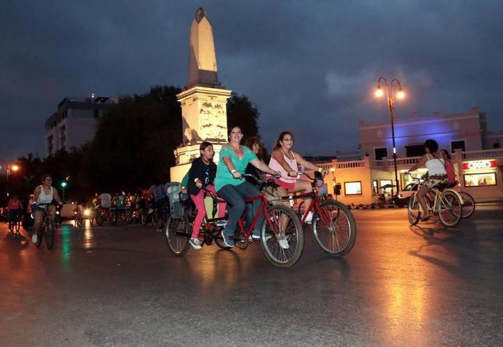 A partir de las 18:00 horas las calles de Paseo de Montejo se cerrarán para que disfruten los ciclistas. (SIPSE/ Ayuntamiento de Mérida)