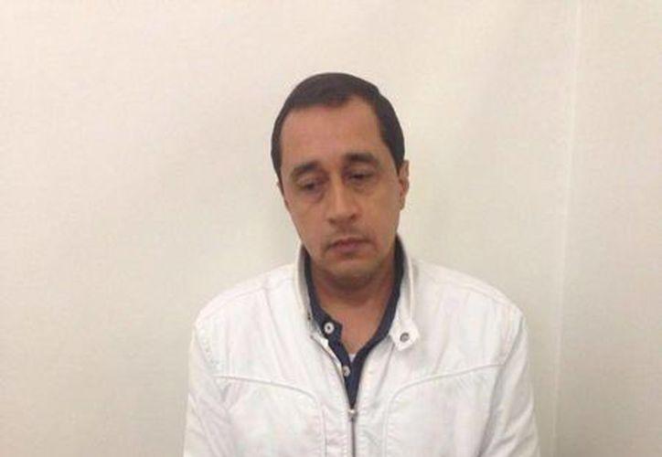El director de la policía de Colombia, general Rodolfo Palomino, publicó en su cuenta de Twitter una imagen de Alberto Armando Pérez Betancourt, alias 'Camilo'. (twitter.com/GeneralPalomino)