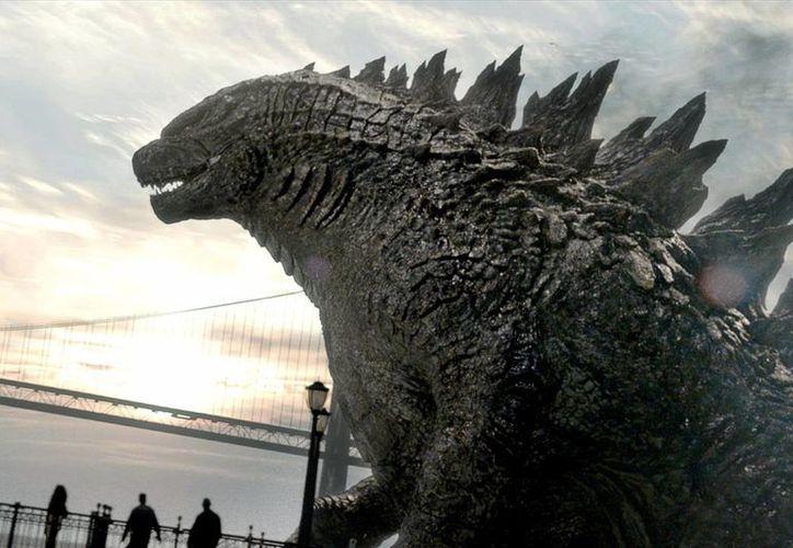 Godzilla quedó en segundo lugar en taquilla seguido de 'The Amazing Spider Man 2'. (Foto de Warner Bros pictures)