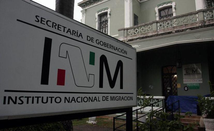 Para la delegación del INM se menciona al ex secretario general de Gobierno, Víctor Sánchez Álvarez.  (Milenio Novedades)