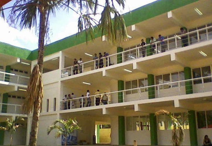 Las becadas se preparan en la Universidad Intercultural Maya de Quintana Roo.  (Harold Alcocer/SIPSE)
