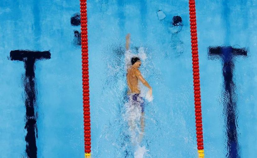 Phelps participará en otras tres pruebas durante los Juegos de Río 2016. (AP/Morry Gash)