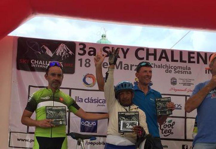 Don Maximiliano recorrió más de 30 kilómetros sin detenerse hasta llegar a la meta. (Foto: Facebook)
