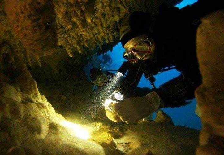 Los 20 registros de sitios subacuáticos de Tulum hay sufrido saqueos. (Cortesía/Instituto de la Prehistoria)