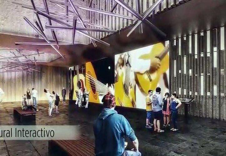 El recinto, que estará en el Centro Histórico, se sumará a la oferta de espacios para la cultura y el arte. (Milenio Novedades)