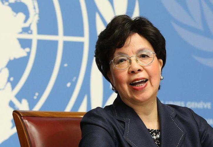 La Organización Mundial de la Salud -cuya presidenta Margate... apare en la foto- está preocupada por el bienestar de los atletas, debido a la epidemia de zika, en Río de Janeiro, donde se desarrollarán los Juegos Olímpicos. (EFE)