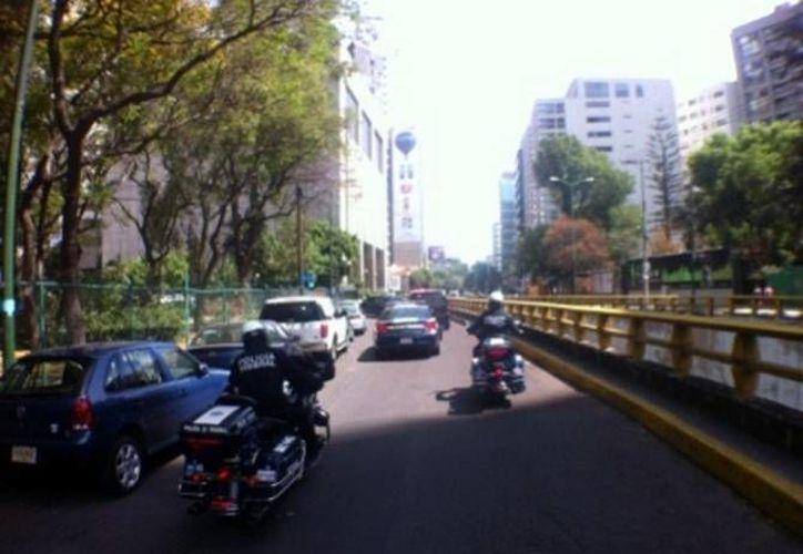 """El Día sin Auto también apunta a """"crear conciencia sobre el respeto"""" a los peatones. (Milenio)"""