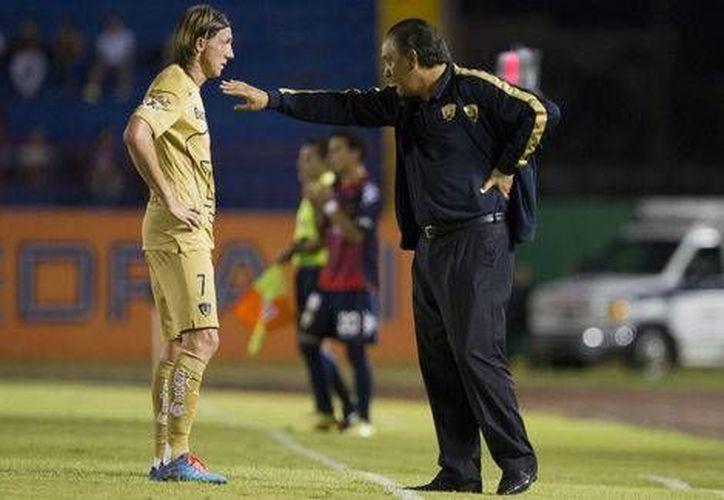 Pumas ha sufrido dos derrotas en el  Torneo de Apertura 2014.(Foto:Milenio)