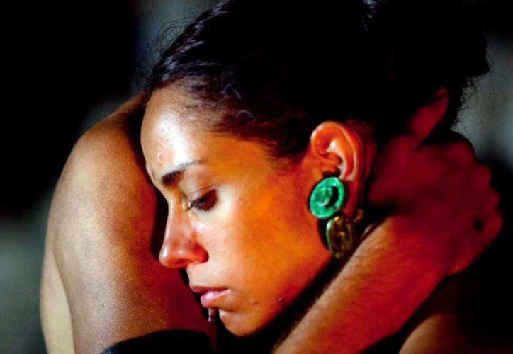 Alejandra Toussaint interpreta a Zazil Há, esposa de Gonzalo Guerrero. (Milenio Novedades)