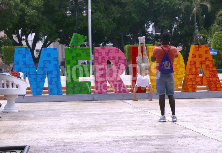 Mérida siempre da una buena bienvenida a sus visitantes. (Jorge Acosta/Novedades Yucatán)