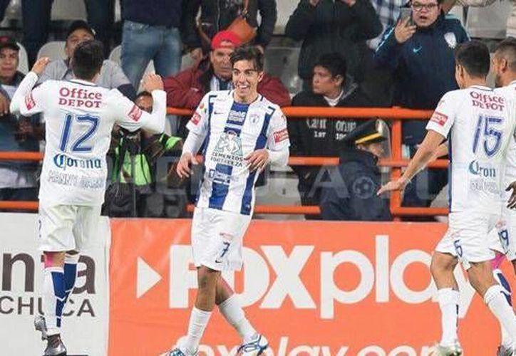 Pachuca venció 3-1 a los Rayados del Monterrey con lo que comanda el Clausura 2016, seguido del León y de Santos Laguna. (Facebook: Pachuca)
