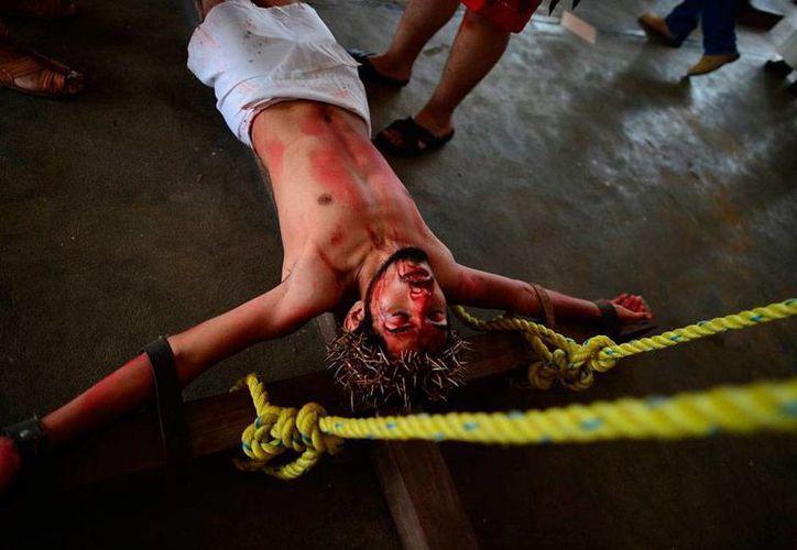 Cuando resucitó, tras se crucificado, Cristo venció a Satanás. (Archivo/SIPSE)
