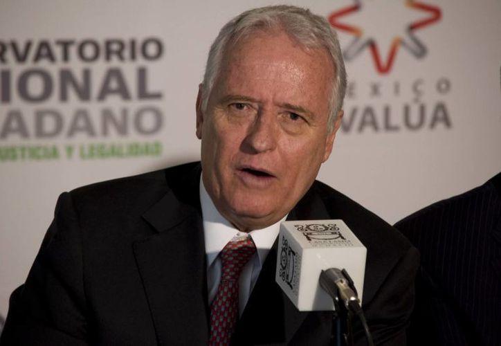 El presidente México SOS, Alejandro Martí, en imagen del 17 de octubre de 2012. (Archivo/Notimex)
