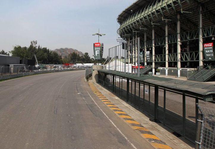 El Autódromo Hermanos Rodríguez será sede en 2015 del Gran Premio de Fórmula Uno en México. (Foto: Notimex)