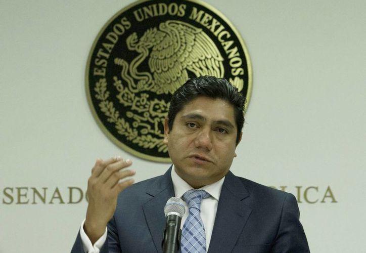 Jorge Luis Preciado, líder panista en el Senado, asegura que se enteró de las acusaciones en su contra a través de los medios. (Archivo/Notimex)