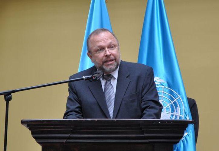 Francisco Javier Dall'Anese explicó que la labor de investigación exhaustiva le corresponde al Ministerio Público. (cicig.org)