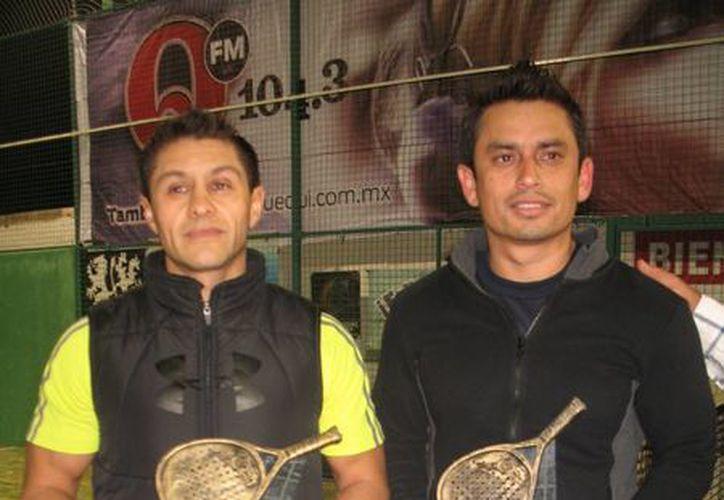 Luis Gutiérrez y Wilson Arceo se llevan el título del torneo. (Raúl Caballero/SIPSE)