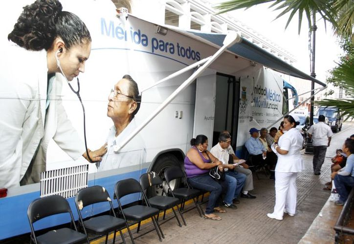 Para la Comuna es prioridad garantizar la salud de los meridanos. (Antonio Sánchez/SIPSE)
