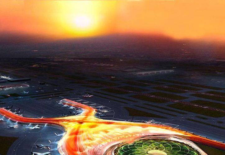 La propuesta de Ciudad Aeropuerto comprende aproximadamente 928 hectáreas, ubicadas entre el terreno del Naicm y la Autopista Peñón-Texcoco. (aeropuerto.gob.mx)