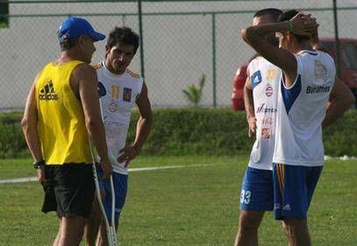 Tigres empieza a tomar forma, pues se reportó ayer el capitán Lucas Lobos. (Foto/Cortesía)