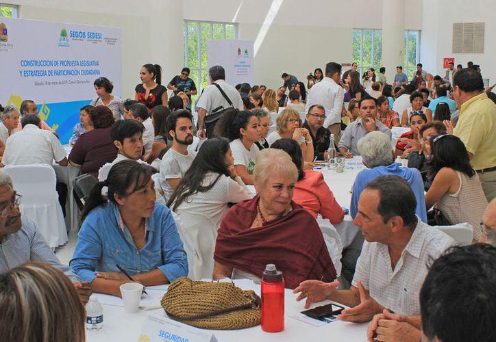 A pesar de la inasistencia de Seguridad Pública, el evento tuvo alta participación. (Claudia Olavarría/SIPSE)