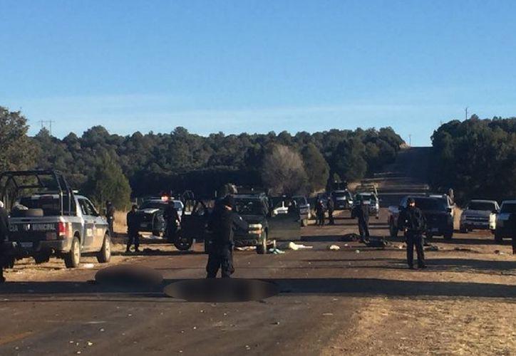 El enfrentamiento se registró entre las localidades de La cuesta del Toro y la Pinta. (Foto: Entrelíneas)