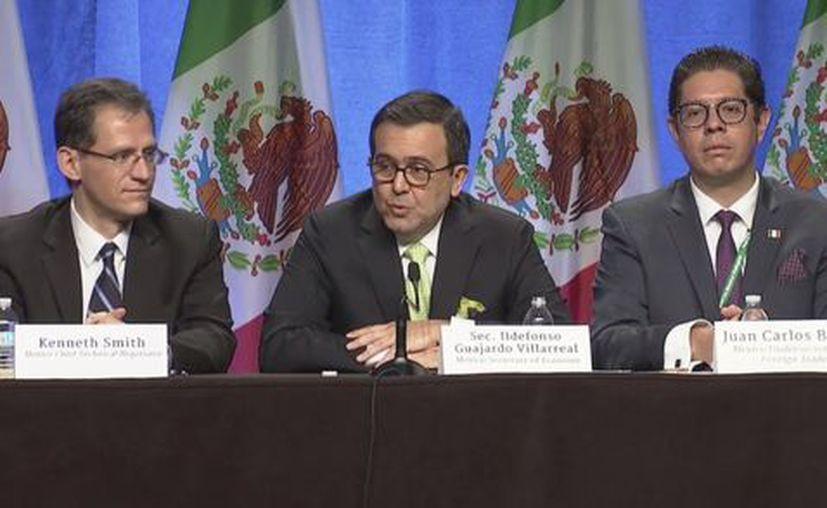 México, Estados Unidos y Canadá comenzaron esta mañana a renegociar el acuerdo que hace 23 años. (Milenio)