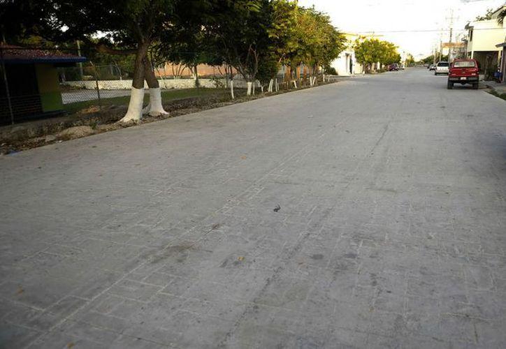 Informan que las calles tendrán mayor durabilidad y seguridad en las calles. (Cortesía/SIPSE)