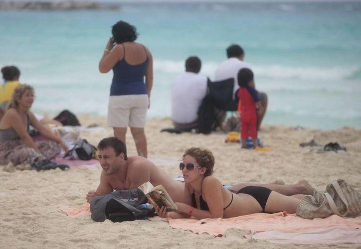 Mencionan que el turismo norteamericano presenta un aumento significativo en estas fechas. (Redacción/SIPSE)