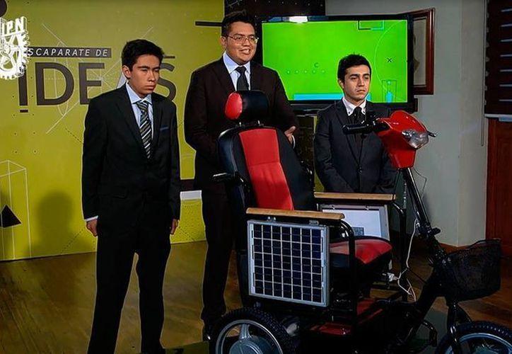 Alumnos del Instituto Politécnico Nacional expondrán sus proyectos en el programa de televisión Escaparate de Ideas, en Canal Once. (Cortesía)