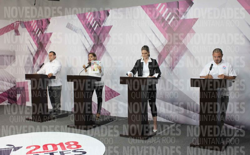 Este fue el tercer debate organizado por el Ieqroo. (Benjamín Pat/SIPSE)