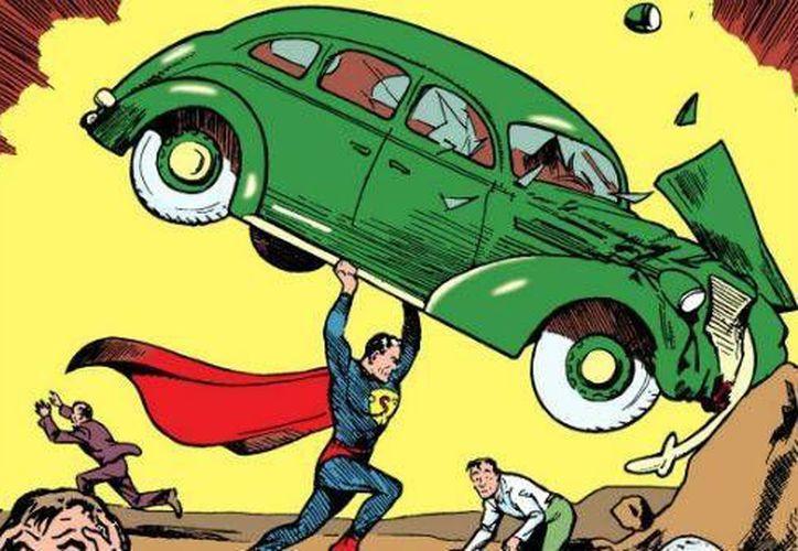El cómic sería uno de sólo medio centenar de copias en el mundo. (excelsior.com.mx)