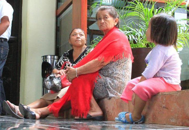 Durante la Semana Nacional de Salud para gente Grande se aplicarán a las personas mayores de 60 años la prevención y control de enfermedades. (Joel Zamora/SIPSE)